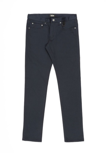 izzue navy Slim-fit pants E5ECCAA9CDCFDAGS_1