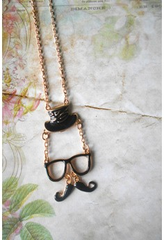 English Gentleman Pendant Necklace