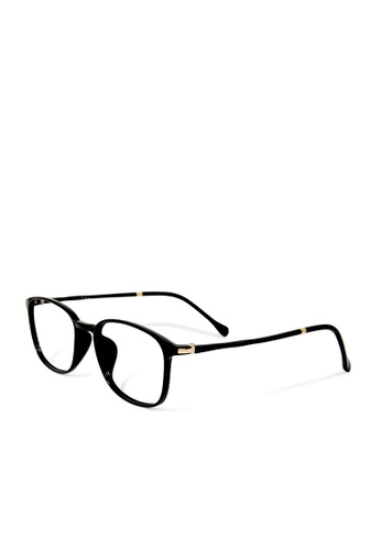 ASLLY black and multi Café en Seine│Anti-blue light glasses with TR90 rectangle frame 376D3GL70C98D1GS_1