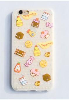 Sweets and Happiness Soft Transparent Case for iPhone 6/6s