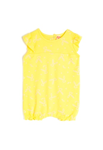 KOTON yellow Knitted Overalls 6F506KAE0176C7GS_1