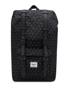 Herschel black Little America Mid-Volume Backpack HE114AC0RFD9MY 1 920d15c3638b6