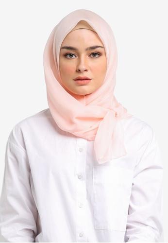 VERCATO pink Emy Organza Silk Bawal VE999AA0SHPKMY_1