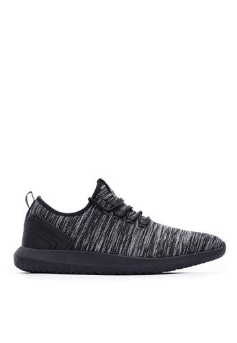 Life8 black Lace-Up Sporty Shoes-09875-Black A93ACSHFD70AE9GS_1