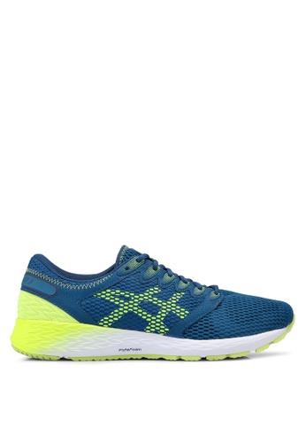 Asics blue Roadhawk FF 2 Shoes 6DAACSH96052D5GS_1