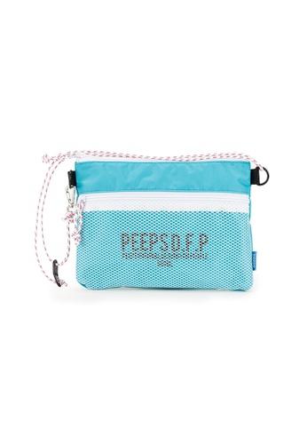 Peeps blue Bright Sacoche Bag 9C2B2ACBA9B117GS_1