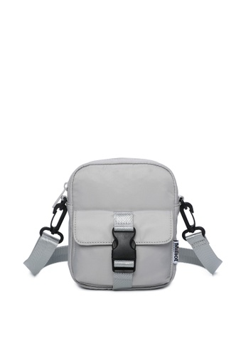 Milliot & Co. grey Hoga Sling Bag 8AA45ACC275255GS_1