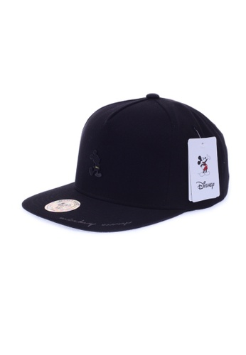 M-Wanted black M. MickeyMouse Series Snapback Cap A13F9ACB78376EGS_1