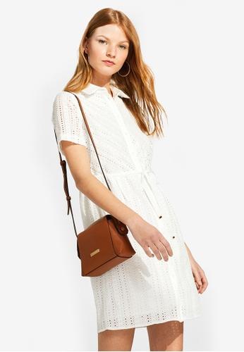 ESPRIT white Dresses woven midi 5F7C3AAB01C638GS_1