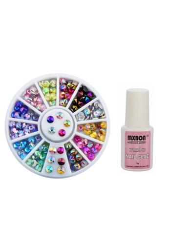 Buy Pretty2u Nail Accessories Nail Art Sharp Top Rhinestones Mix