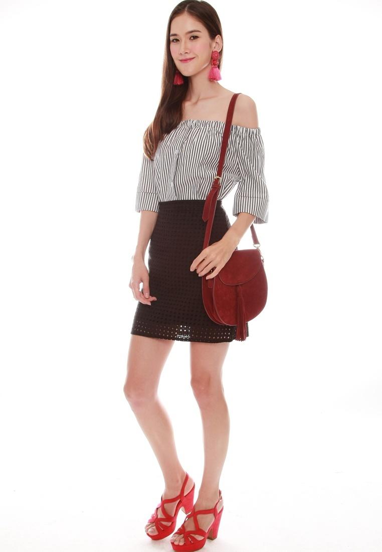 Skirt Skirt JOVET Eyelet Skirt Black JOVET Black JOVET Eyelet Black JOVET Eyelet xUATwRE