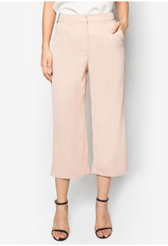 Collection Straight Leg Cropped Trousers