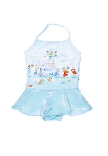 Viva Vida Kids blue Halter Songkran 63D0DKA0EC1299GS_1