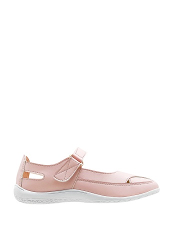 CO BLANC pink CO BLANC Mary Jane Pump Flats 7AABASH15A4717GS_1