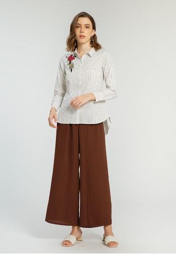 Minimal Stella Stripe Shirt OFFWHITE 450D7AA65D06CCGS_1