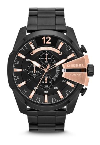 Diesel black Diesel Chief Series Chronograph Watch DI095AC0K94APH_1