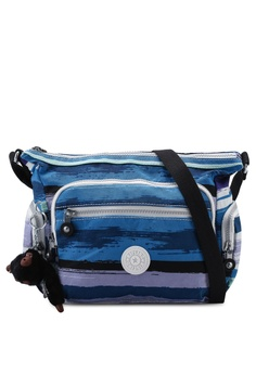 e859734fdbf Kipling blue and multi Gabbie S Sling Bag 0AB6AAC8468EC3GS_1