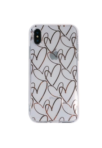 Kings Collection white Heart Pattern iPhone 12 Pro Case (KCMCL2170) 9C2C4ACEFCBB0CGS_1