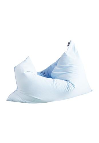 doob blue DOOBSTA' - versatile fabric doob bean bag (Blueberry) ED932HL592B2F1GS_1
