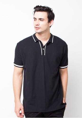 Endorse Polo Shirt E & Vrspolet Black END-OG079