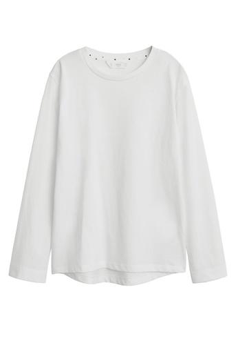 MANGO KIDS white Organic Cotton T-Shirt 97DC4KAF7671C6GS_1