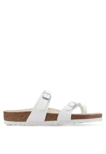 Birkenstock white Mayari Sandals BI090SH65HNEMY_1