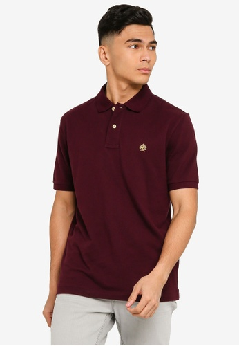Springfield brown Essential Regular Fit Polo Shirt 4B114AA505EE98GS_1