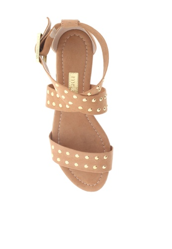 948d2b72cc Buy Beira Rio Studded Strappy Flat Sandals