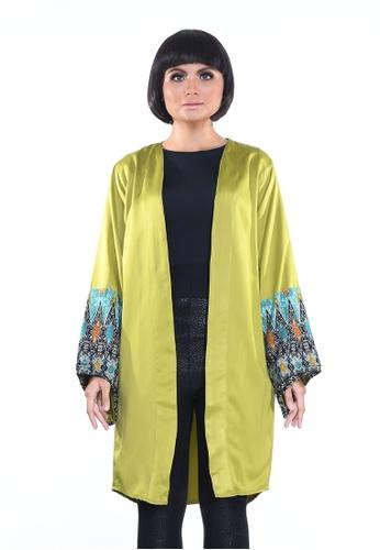 Jameqha green Kimono Montana in Green D6CCEAA3D0F0BFGS_1