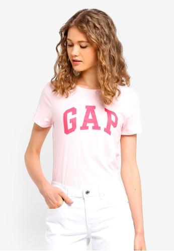 Gap white Short Sleeve Gap Classic Tee 44B04AAE4B3002GS_1