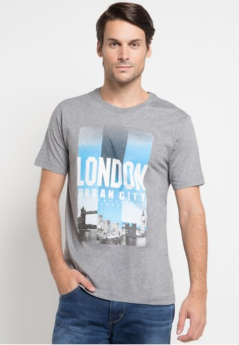 Country Fiesta grey Men'S Tshirt Fashion CO129AA0U8KZID_1