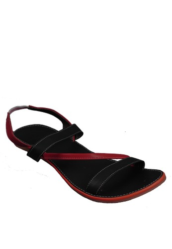 Beauty Shoes Flamingo Beauty Sandals Red