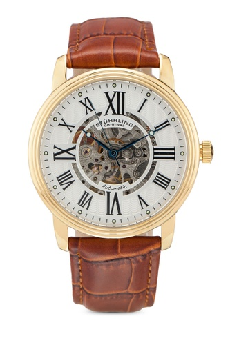 Stuhrling Original brown Stuhrling Delphi Venezia 1077.3335 Watch 15030AC48FE9E7GS_1
