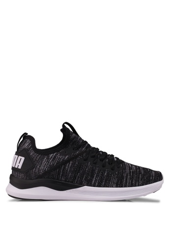 0e967732ae Puma Select black Ignite Flash Evoknit Shoes 80A5FSHA3018E6GS 1