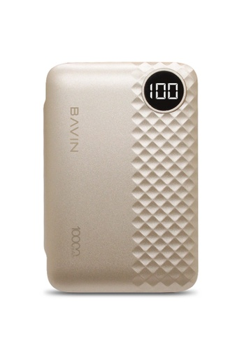 BAVIN gold 10000mAh Super Handheld Powerbank w/ Digital Indicator 9879CAC1A1EB22GS_1