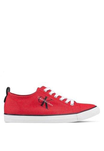 Calvin Klein red Arnold Sneakers 32C57SHABBFD58GS_1