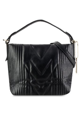 Perllini&Mel black Single Handle Sling Bag PE444AC72WLBMY_1
