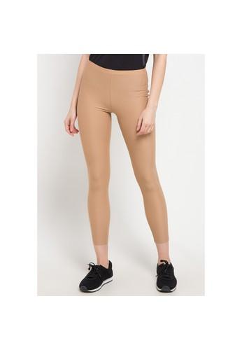 Opelon brown Opelon Celana Olahraga Wanita - Legging Brown 058FAAAFEE5A66GS_1