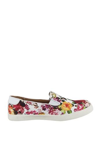 London Rag multi Floral Print Slip-On Sneakers B41C4SH11687D7GS_1