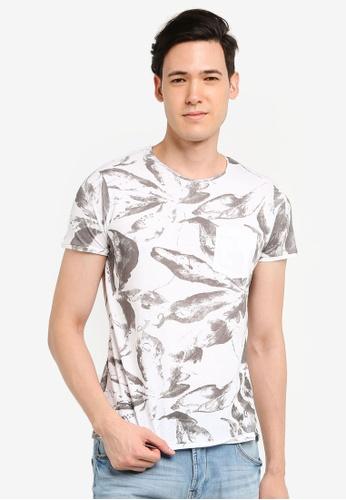 OVS 白色 口袋T恤 BAA20AAD32C59AGS_1