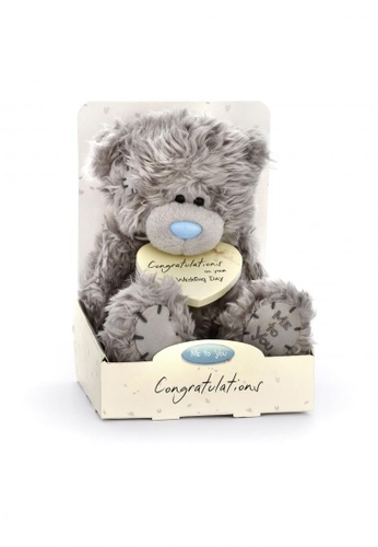 Her Jewellery Me to You Plush Toys - 7″ Tatty Teddy – Congratulations on your Wedding Day FA819THF3A9768GS_1