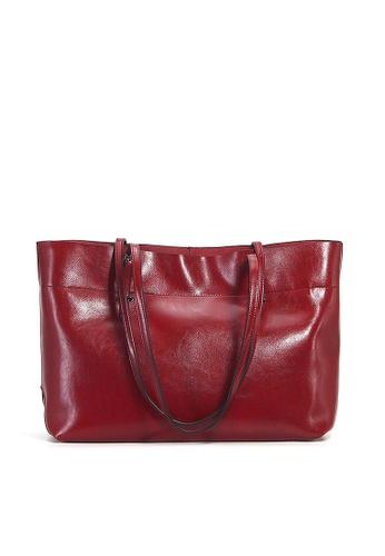 Twenty Eight Shoes red VANSA Cow Leather Hand Bag VBW-Tb8825A 74F18ACEEFB52BGS_1