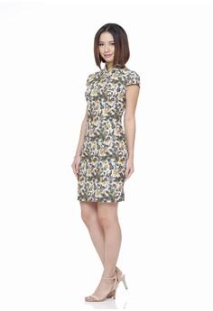 8b90ce83d Mandarin Peony Cheongsam multi Mandarin Peony CENDRAWASIH Cheongsam Batik  Dress 74C0EAA42E7EA9GS_1