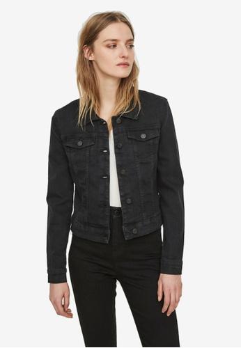 Noisy May black Debra Black Denim Jacket 1E447AAC322C05GS_1