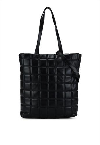 Pieces black Elina Shopper Bag 1A5F3AC8FF0DD2GS_1
