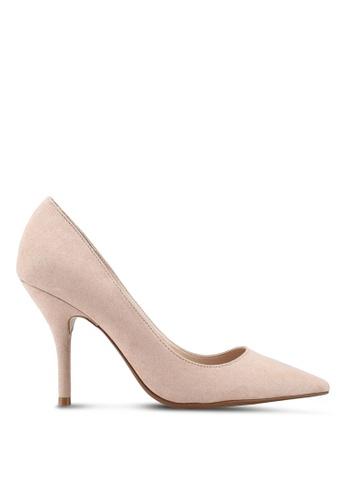Mango pink Pointed Toe Pumps Heels 38797SH8002FBFGS_1