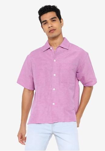 niko and ... pink Woven Shirt 895B9AA4C2D857GS_1