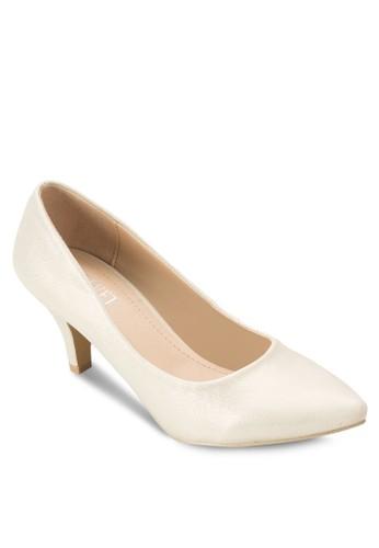 Macie esprit outlet 家樂福仿皮中跟鞋, 女鞋, 鞋