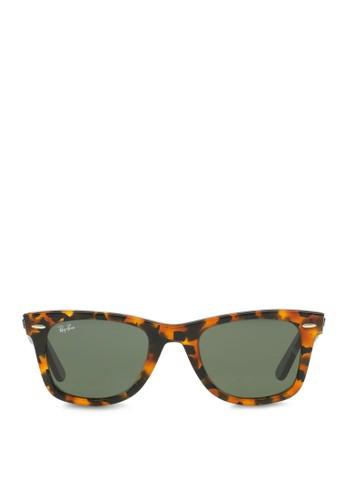 Wayfarer Fleck 方框太陽眼鏡zalora 泳衣, 飾品配件, 飾品配件