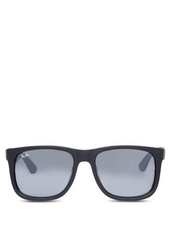 ray-ban Justin RB4165 Sunglasses RA370GL62ZGRSG_1
